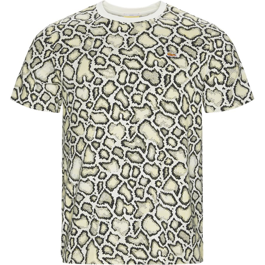 TH6207 - Unisex Lacoste X Opening Ceremony Embroidered T-shirt - T-shirts - Regular - OFF WHITE - 1